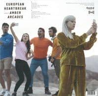 AMBER ARCADES European Heartbreak Vinyl Record LP Heavenly 2018 Blue Vinyl